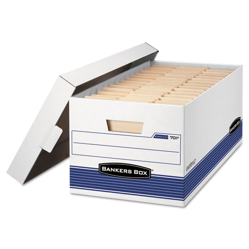 Bankers Box 702 Stor File Storage Box Legal Locking Lid