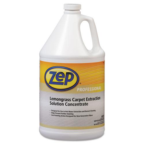 Zep Professional® Carpet Extraction Cleaner, Lemongrass, 1gal Bottle