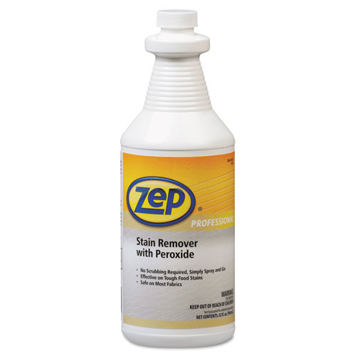 Zep Professional® Stain Remover with Peroxide, Quart Bottle