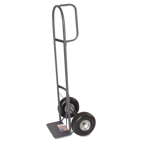 "D-Handle Hand Truck, 10"" Pneumatic Tires 
