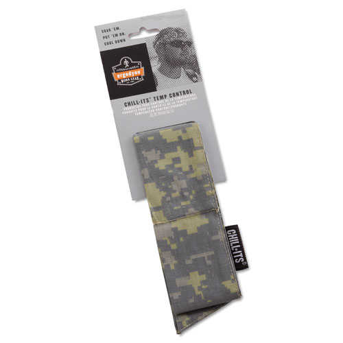 Chill-Its 6700/6705 Bandana/Headband, One Size Fits All, Camo