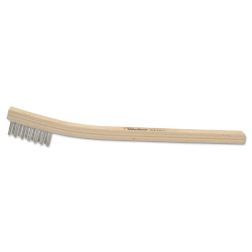 Bh-37-ss small hand scratch brush, 3 x 7, stainless steel, sold as 1 each