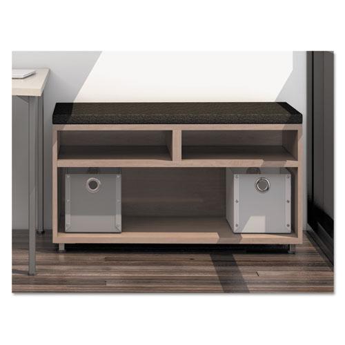 e5 Series Open Storage Cabinet, 42w x 18d x 23h, Summer Suede