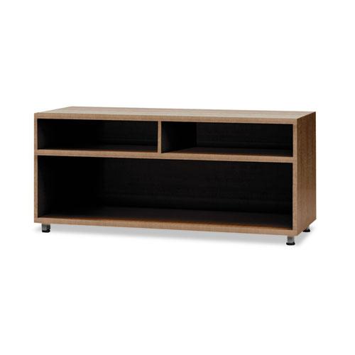 e5 Series Open Storage Cabinet, 42w x 18d x 23h, Cocoa