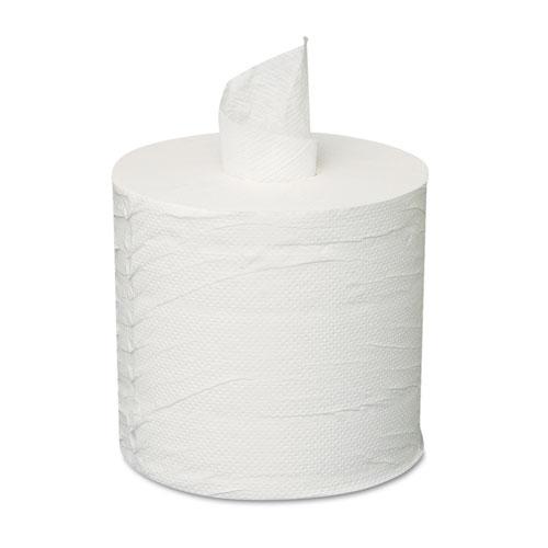 Centerpull Towels, 2-Ply, White, 600 Roll, 6 Rolls/Carton