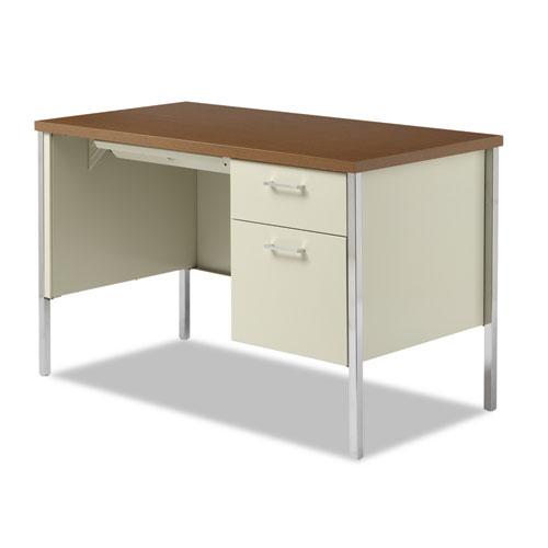 Alesd4524pc Alera 174 Single Pedestal Steel Desk Zuma