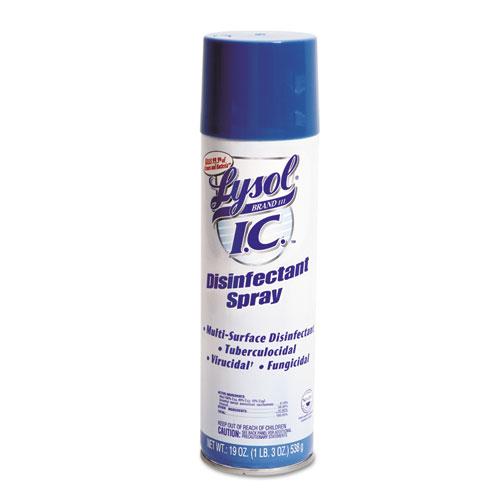 LYSOL® Brand III I.C.™ Disinfectant Spray, 19 oz Aerosol Spray, 12/Carton