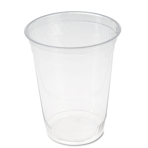 Fabri-Kal® Greenware Cold Drink Cups, Clear, 12 oz., 100/Pack FABGC12S