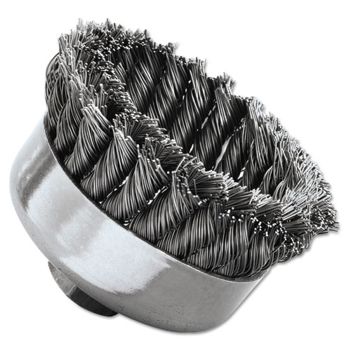 SR-4 General-Duty Knot Wire Cup Brush, .023 12316