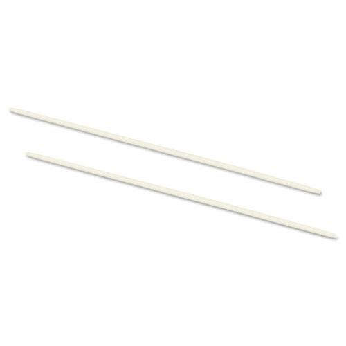 Data Flex 8-1/2 Nylon Posts For Top/Bottom Loading Binders, 6 Cap, 20/Pack