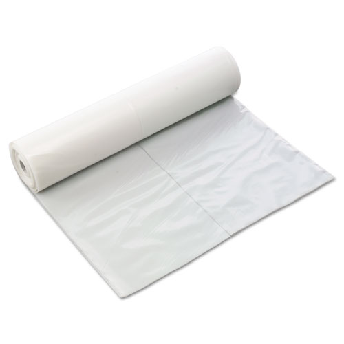 Poly-Cover Plastic Sheets, 6mil, 10 x 100, Clear