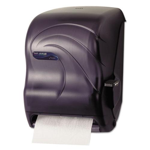 San Jamar Lever Roll Towel Dispenser, 12 15/16