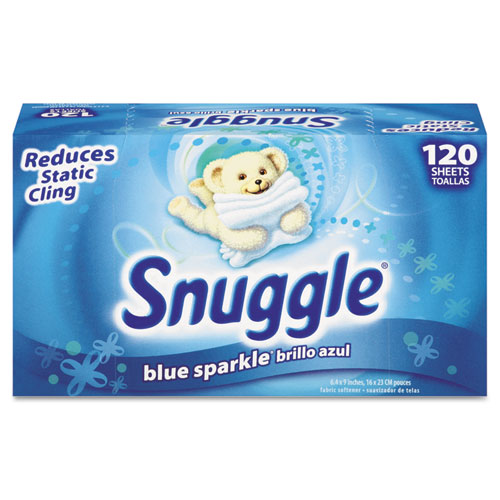 Snuggle® Fabric Softener Sheets, Fresh Scent, 120 Sheets/Box, 6 Boxes/Carton