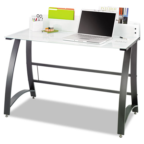 Xpressions Computer Workstation 47w X 23d X 37h Frosted