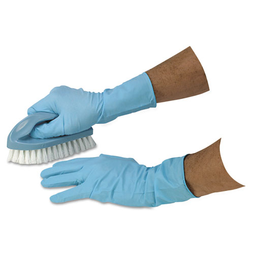 DiversaMed Disposable Powder-Free Exam Nitrile Gloves, Medium, Blue, 50/Box