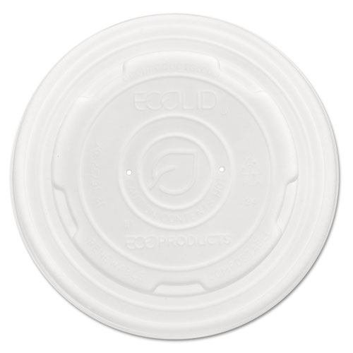 EcoLid Renew & Comp Food Container Lids, F/12,16, 32oz, 50/PK, 10 PK/CT EPECOLIDSPL