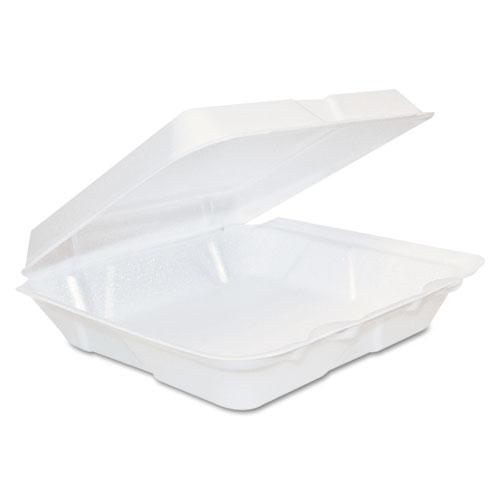 Dart® Carryout Food Container, Foam, 1-Comp, 9 3/10 x 6 2/5 x 2 9/10, 200/Carton