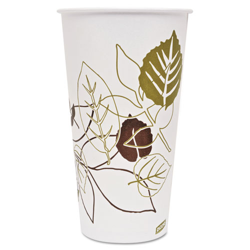 Pathways Polycoated Paper Cold Cups, 32 Ounces, 600/Carton 328PPATH