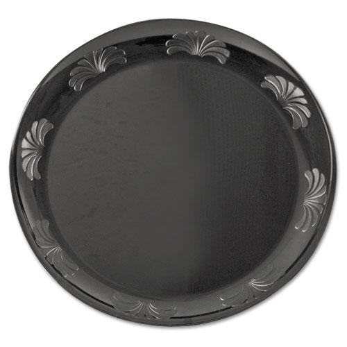 WNA Designerware Plastic Plates 7 1/2 Inches Black Round 10  sc 1 st  Complete Supply Inc. & WNA Designerware Plastic Plates 7 1/2 Inches Black Round 10/Pack ...