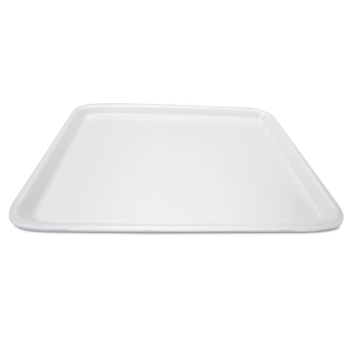 Supermarket Tray, Foam, White, 18 x 14, 100/Carton