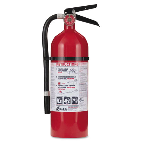 Pro 210 Fire Extinguisher, 4lb, 2-A, 10-B:C | by Plexsupply