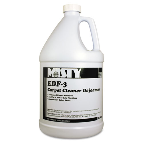 Misty® EDF-3 Carpet Cleaner Defoamer, 1 gal. Bottle, 4/Carton