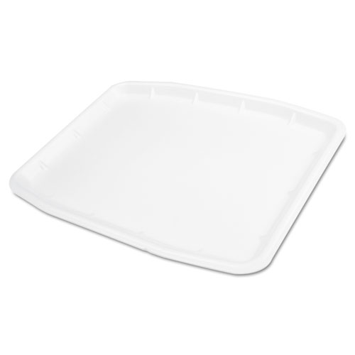 Supermarket Tray, Foam, 12 x 15.75 x .75, White, 100/Carton