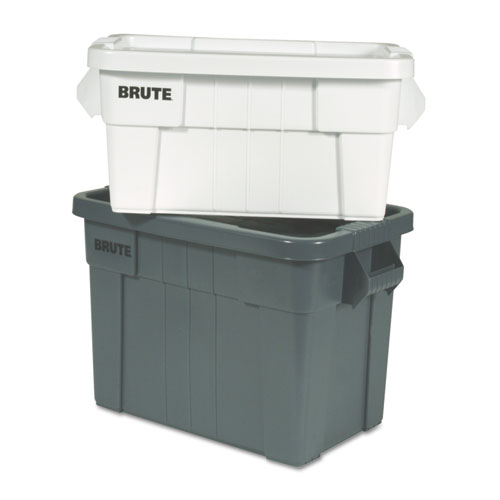 Brute Tote Box, 20gal,Gray 9S31GRACT