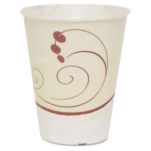 Symphony Trophy Plus Dual Temperature Cups, 10oz, 50/Sleeve, 6 Sleeves/Carton OFX10N