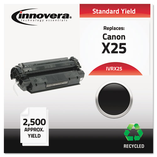 Remanufactured 8489A001AA (X25) Toner, 2500 Page-Yield, Black