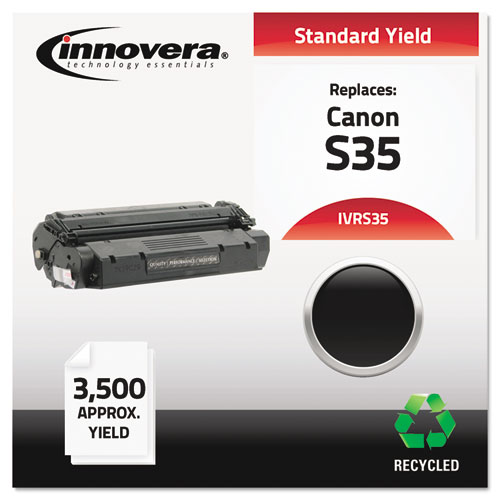 Remanufactured 7833A001AA (S35) Toner, 3500 Page-Yield, Black