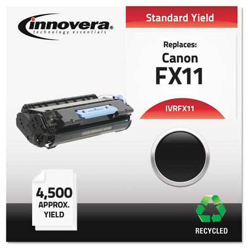 Remanufactured 1153B001AA (FX11) Toner, 4500 Page-Yield, Black