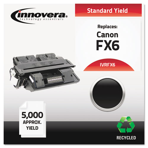 Remanufactured 1559A002AA (FX6) Toner, 5000 Page-Yield, Black
