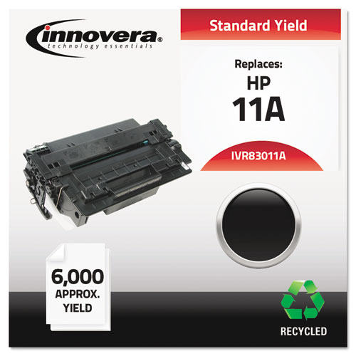 Remanufactured Q6511A (11A) Toner, 6000 Page-Yield, Black | by Plexsupply
