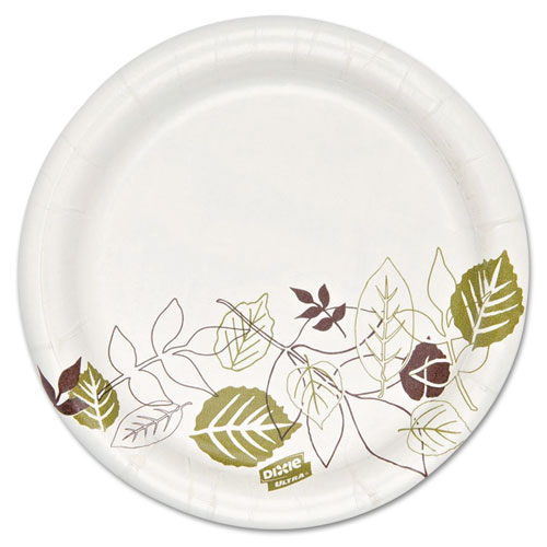 Pathways Soak Proof Shield Heavyweight Paper Plates, 5 7/8 dia,1000/Carton