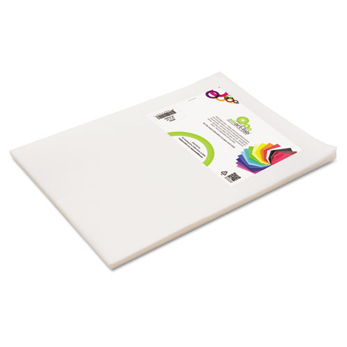 Smart Fab Disposable Fabric, 12 x 18 Sheets, White, 45 per