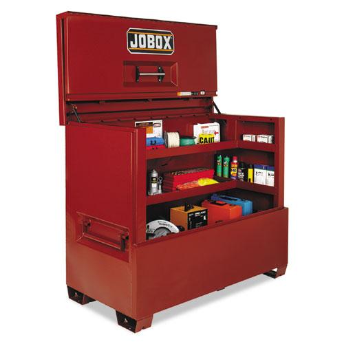 """JOBOX® Piano Box, 60"""" x 31"""" x 50"""", Steel, Red"""