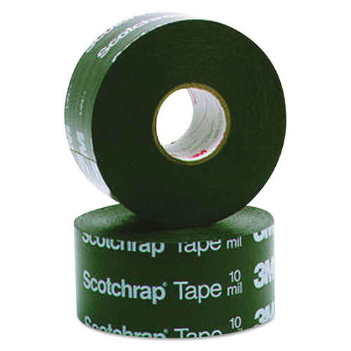 Scotchrap All-Weather Corrosion Protection Tape, 4 x 100 ft, Black