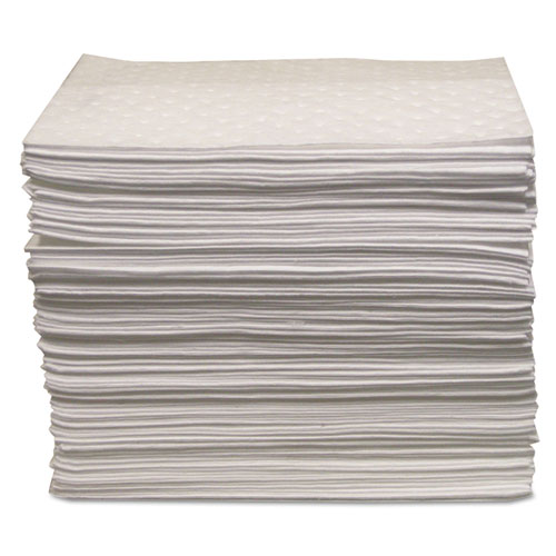 "Anchor Brand® Oil Only Sorbent Pad 15""x17"", Heavy-Weight"