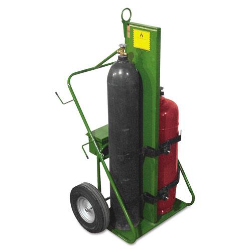 550 Series Cart, 1000-lb Load Maximum, 38w x 62h, Green