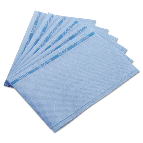 Food Service Towels, 13 x 21, Blue, 150/Carton | by Plexsupply