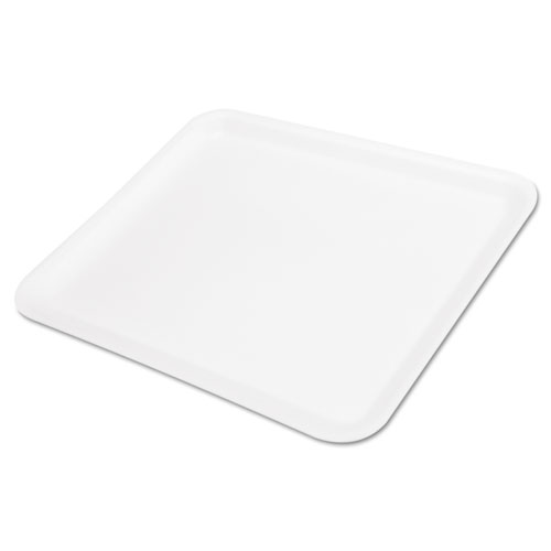 Supermarket Tray, Foam, White, 11-1/4x9-1/4, 125/Bag