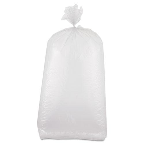 "Food Bags, 0.8 mil, 8"" x 20"", Clear, 1,000/Carton"