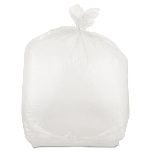 Inteplast Group Get Reddi Food & Poly Bag, 10 x 8 x 24, 22-Quart, 1.00 Mil, Clear, 500/Carton