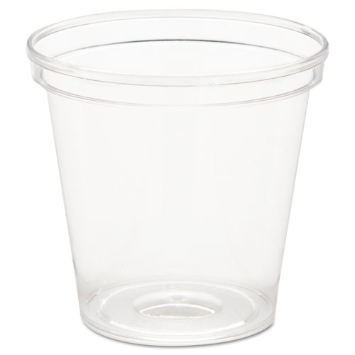 Comet Plastic Portion/Shot Glass, 1 oz, Clear