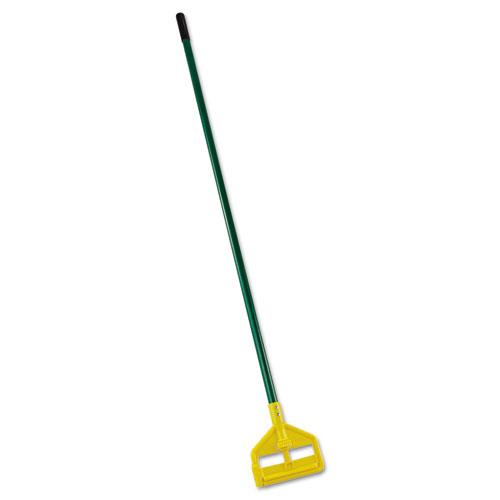 Invader Side-Gate Wet-Mop Handle, 60, Green, Fiberglass