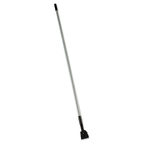 Snap-On Fiberglass Dust Mop Handle, 60, Gray/Black