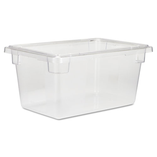 Food/Tote Boxes, 5 gal, 12 x 18 x 9, Clear