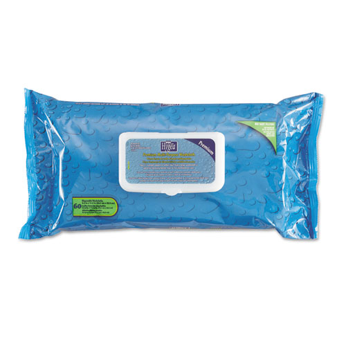 Sani Professional® Hygea Adult Wash Cloths, 9 1/2 x 11 1/2, White, 60 Wipes/Tub, 6 Tubs/Carton