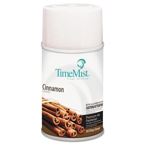 Premium Metered Air Freshener Refill, Cinnamon, 6.6 oz Aerosol, 12/Carton